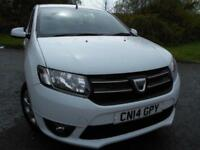 2014 14 DACIA SANDERO 0.9 LAUREATE TCE 5D 90 BHP ** POUND;30 ROAD TAX , ONLY DO