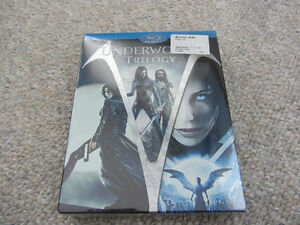 Underworld Trilogy on Blu-Ray - Still Sealed