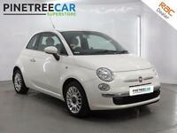 2009 FIAT 500 1.2 Lounge 3dr start stop