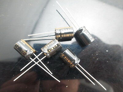 Japan 2pcs Elna Rfs Silmic Ii 47uf 25v Highest Audio Capacitor New Diy Hifi