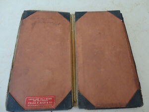 Vintage Leather Belt Sachel Pouch &Vintage Accounting Tally Book Kitchener / Waterloo Kitchener Area image 7