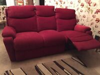 Furnico Townley 3 Seater Recliner Sofa