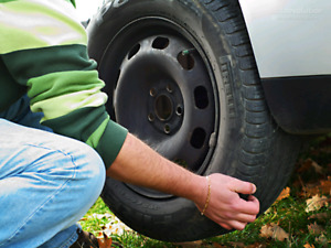 Tire swap/change over service mobile