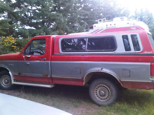 1987 FORD F150 PICKUP WITH CANOPY