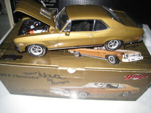 1 18 Diecast GMP 1970 *SUPER* Nova Gold 1 of 1500 Toy Car Model