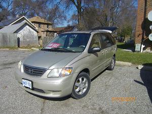 2000 Mazda MPV DX Minivan, Van