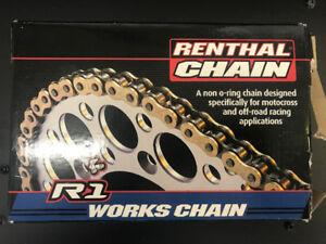 Renthal R1 420-120L works Chain, MX/ATV