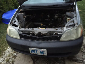2002 Toyota Echo Full PART OUT 1NZ-FE 280 000km Silver Stratford Kitchener Area image 5
