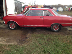 1965 Acadian Canso Sport Coupe 2dr Hard Top Rolling Chassis