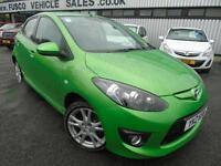 2010 Mazda 2 1.3 - Green - Platinum Warranty / MOT!