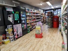 FOOD & WINE SHOP LEASE FOR SALE WITH 2 FLATS
