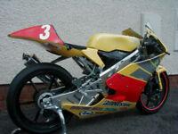 HONDA HP 250 HARC PRO GP RACE BIKE 2008