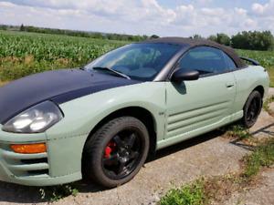 2003 Mitsubishi Eclipse Spyder GTS convertible