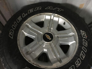Chevy Silverado Tires and Rims 265/65R18