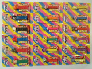 Pez Vintage 1990s Carded Dispensers Collection ( 39 )