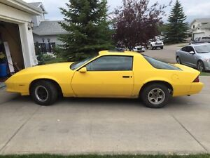 1984 Chevrolet Camaro 2.8 V6 Project Car $1500 - OFFERS