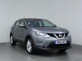 2014 NISSAN QASHQAI 1.5 dCi Acenta Bluetooth Zero Tax 1 Owner Low Miles