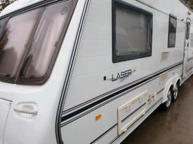 Coachman laser 590/4 twin axle,motor mover, awning.