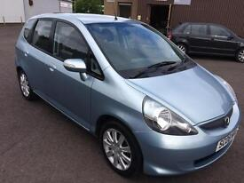0808 Honda Jazz 1.4i-DSI SE Blue 5 Door MOT May 2017