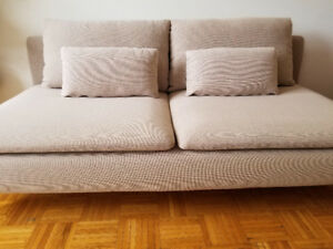 IKEA SODERHAMN Sofa Section - Dark Beige