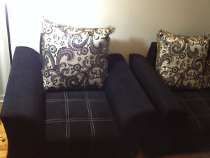 Sofa Set 3 + 2 five seater West Island Greater Montréal image 4