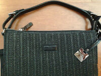 RUDSAK authentic woven $200 purse, NEW WITH TAGS