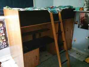 Single matress bunk bed.(reduced to sell)