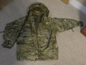 Gore-Tex Waterproof Parka Multicam Raincoat Airsoft jacket