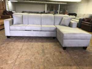 BEIGE-BRAND NEW CANADIAN MADE CONDO SECTIONAL