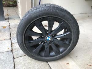 BMW 435 Winter Tire package.  Black rims.  Mint