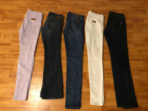 5 Jeans for only $20 Size 27