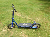 Pedal/Chain driven Scooter