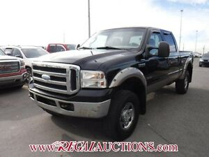 2005 FORD F250SD XLT CREW 4WD