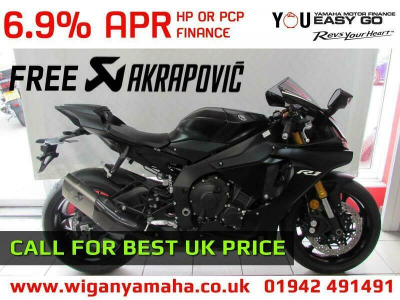 Yamaha Yzf R1 2019 Model With Free Akrapovic Exhaust Call For Best Uk Price In Wigan Manchester Gumtree