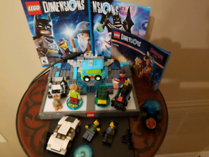 Lego Dimensions  Starter pack Wii U also Scooby Doo Team Pack.