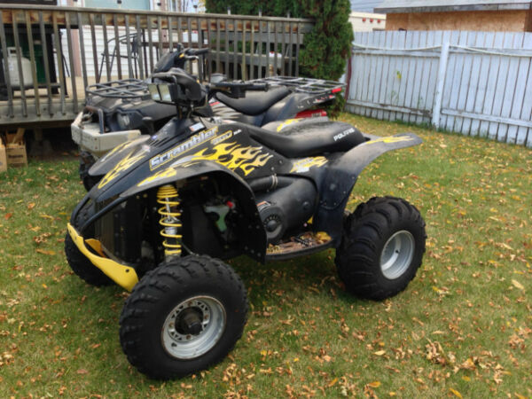 polaris scrambler 500 h o 4x4 for sale canada. Black Bedroom Furniture Sets. Home Design Ideas