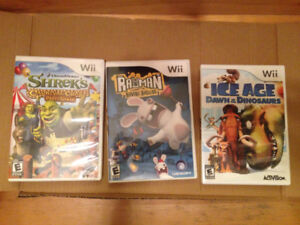 Jeux Wii 15$ ch