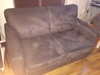 Stunning John Lewis Suede Sofa Bed. Delivery