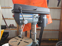 Drill Press with Tray
