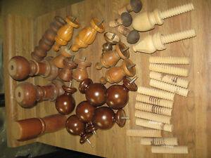 Ornements en bois