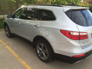 Winter is near 2015 Hyundai Santa Fe XL Limited AWD SUV,