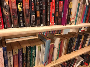 DOWNTOWN BOOK EXCHANGE IS SELLING OUT THEIR BOOKS