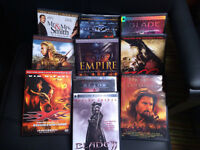 Lot de 10 DVD de films d'action