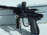2 Electronic trigger paintball Markers and gear