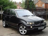 2006 BMW X5 3.0 d SE 5dr++4X4++BARGAIN CHEAP DIESEL SUV+RARE MANUAL, 2 KEYS,P/X