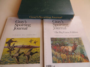 Gray's Sporting Journal collection - 42 mags plus London Ontario image 1