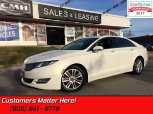 2013 Lincoln MKZ   AWD, NAV, ROOF, COOLED SEATS,  BLIND SPOT, CA