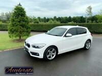 2016 BMW 1 Series 118i [1.5] Sport 5dr HATCHBACK Petrol Manual