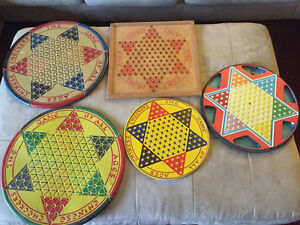 5 Unique Chinese Checkers Boards $15-$25