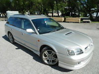 ONLY 55,000kms! 260hp AWD! Legacy GT-B E-Tune TWIN TURBO Wagon!